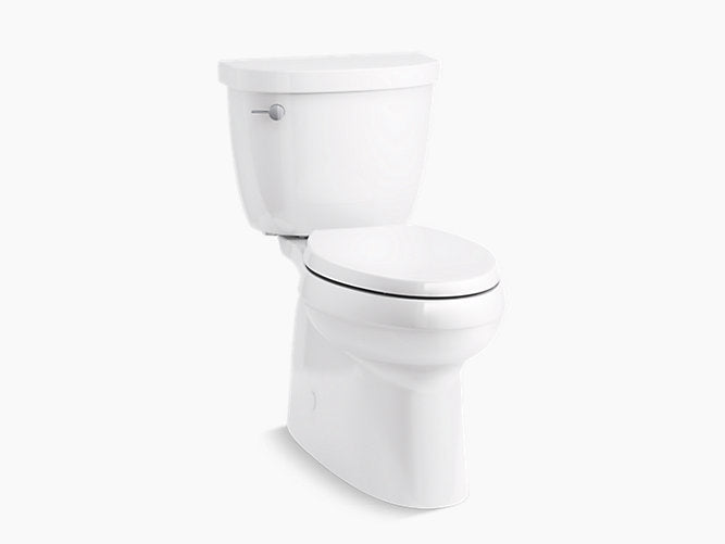 Cimarron Skirted trapway Comfort Height Two-Piece Elongated Toilet, Left-Hand Trip Lever