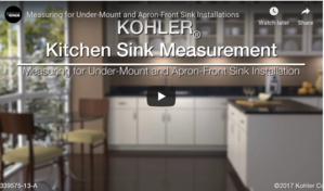 "Whitehaven Self-Trimming 29 11/16"" x 21 9/16"" Under-Mount Kitchen Sink with Tall Apron"