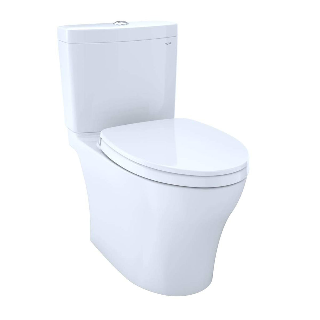 Aquia IV Two-Piece Elongated Dual Flush 1.28 and 0.8 Gpf Toilet with Cefiontect
