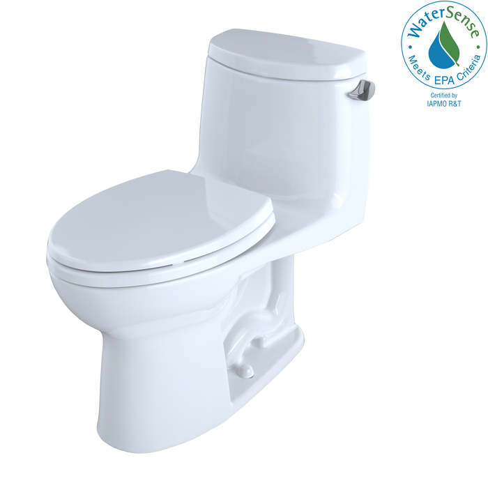 UltraMax® II One-Piece Elongated 1.28 GPF Universal Height Toilet with Right-Hand Lever and CeFiONtect™