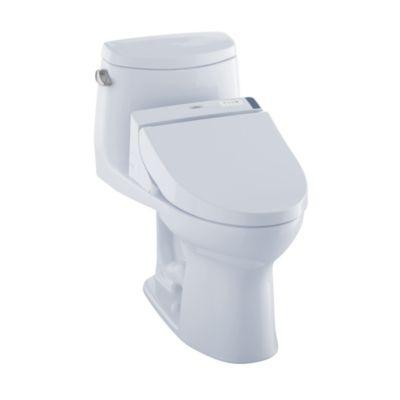 WASHLET+ UltraMax II One-Piece Elongated 1.28 GPF Toilet and WASHLET C200 Bidet Seat