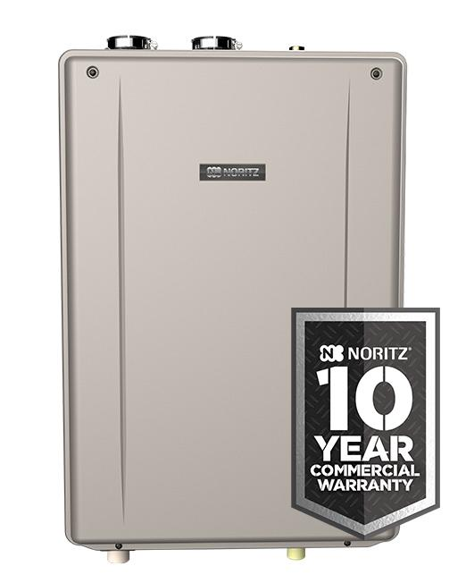 Commercial Indoor Common Direct Vent  Tankless Water Heater (Standard Vent Convertible), max.199,900 Btuh, 11.1 GPM