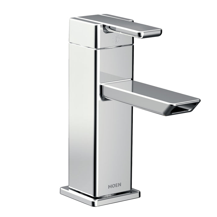90 Degree One-Handle Low Arc Bathroom Faucet