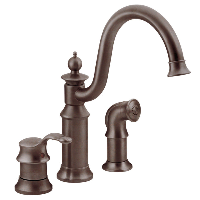 Waterhill One-Handle High Arc Kitchen Faucet