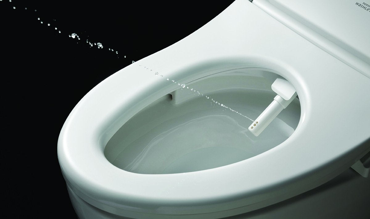 S550e Washlet Elongated Bidet Toilet Seat With Contemporary Lid Auto Need Direct