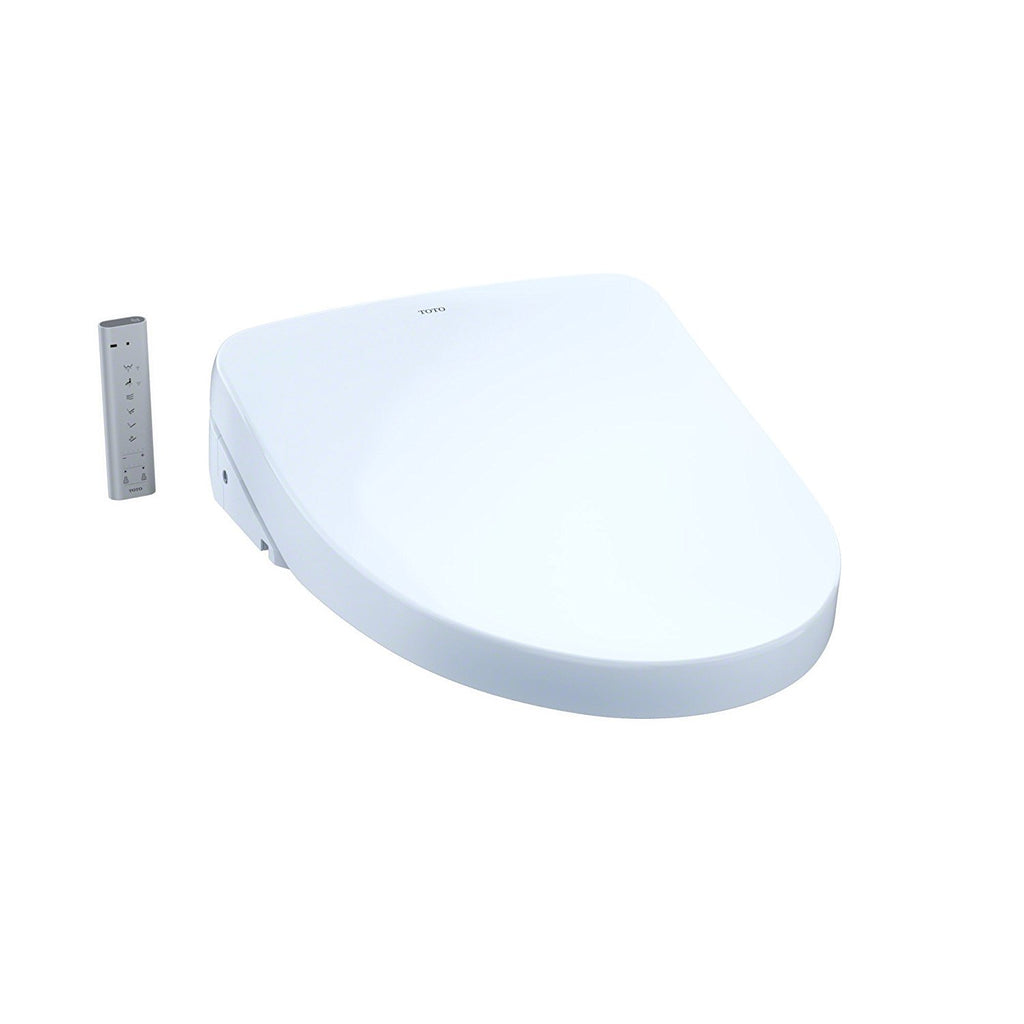 S550e Washlet Elongated Bidet Toilet Seat with Contemporary Lid, Auto Open and ewater+