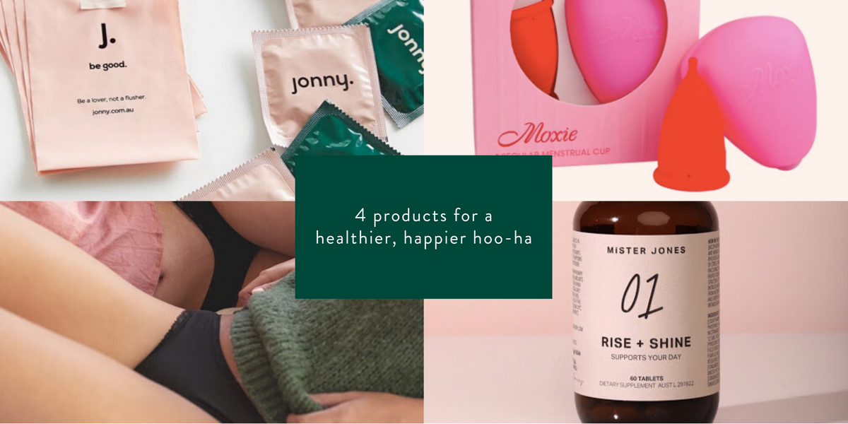 4 products for a healthier, happier hoo-ha