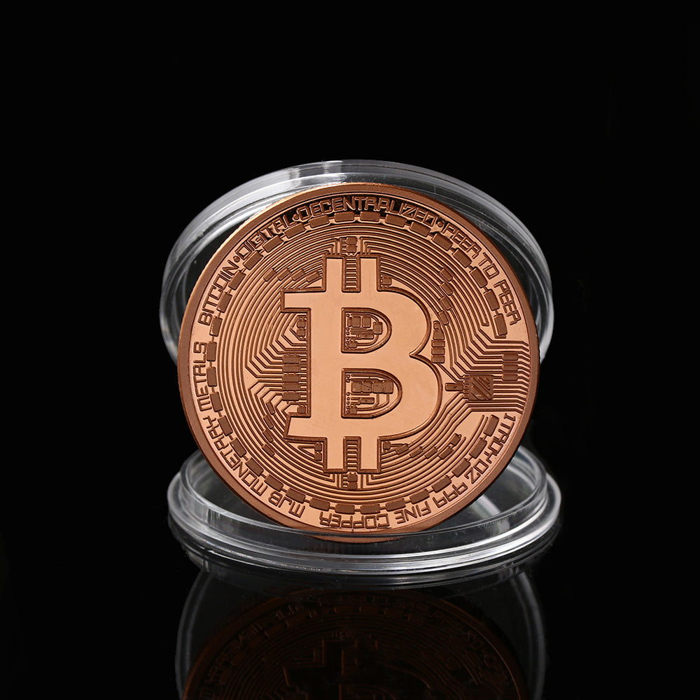 Crypto Coin Collection (5 Options)