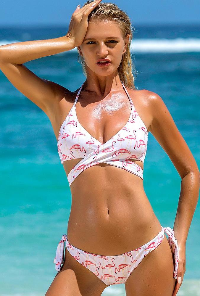 Flirty Flamingo Bikini