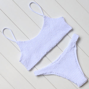 Hot Summer Smocked Bikini Set