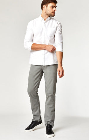 Zach Straight Leg Twill Pant