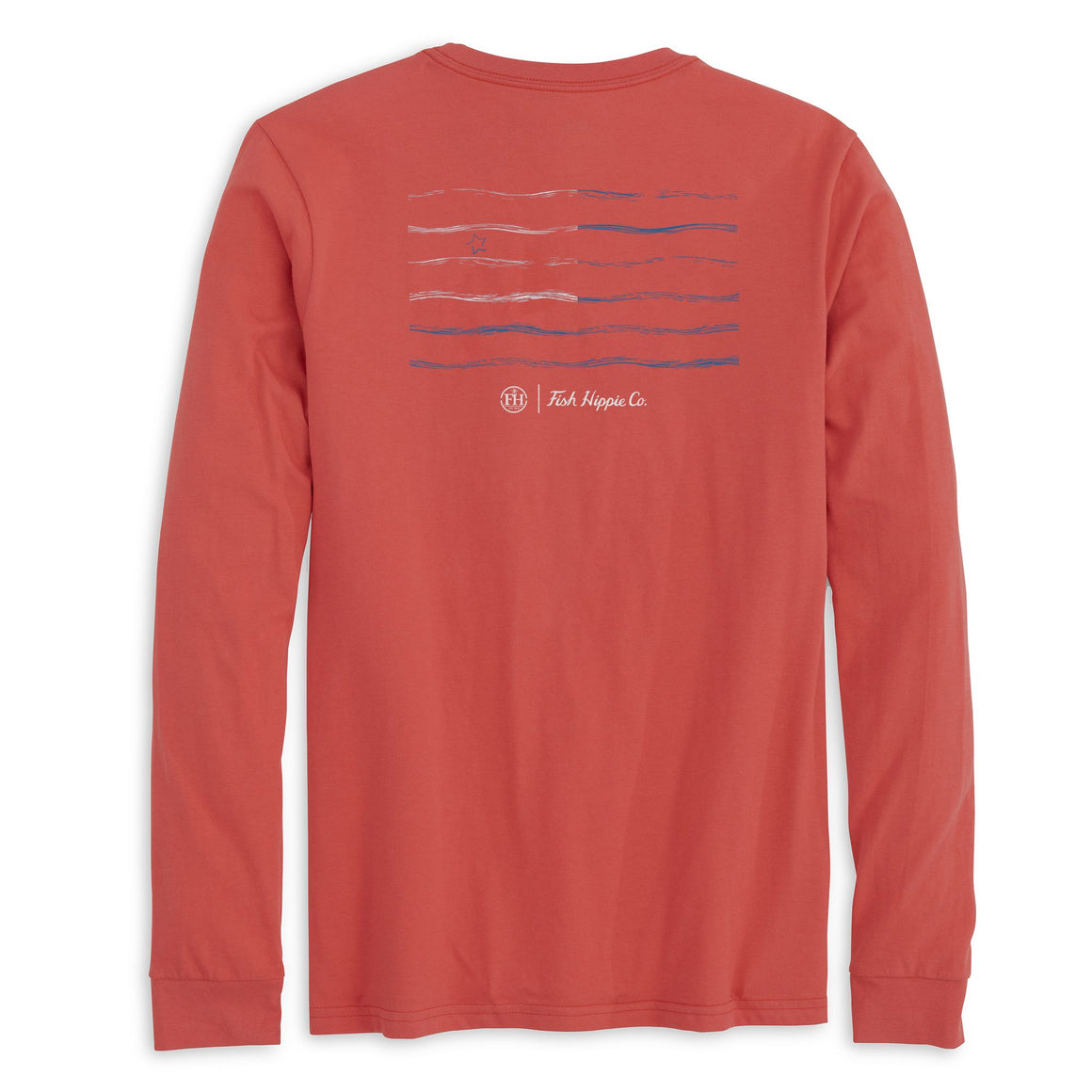 Fish Hippie Banner Day Long Sleeve