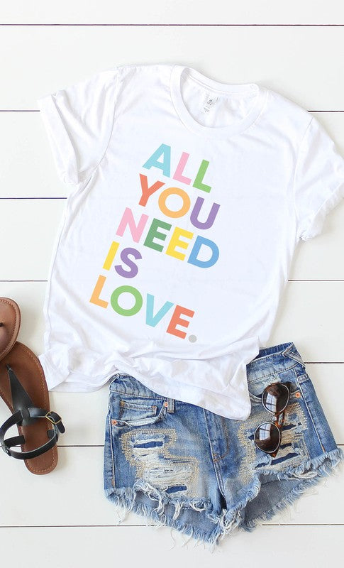 All You Need Is Love Graphic Tee