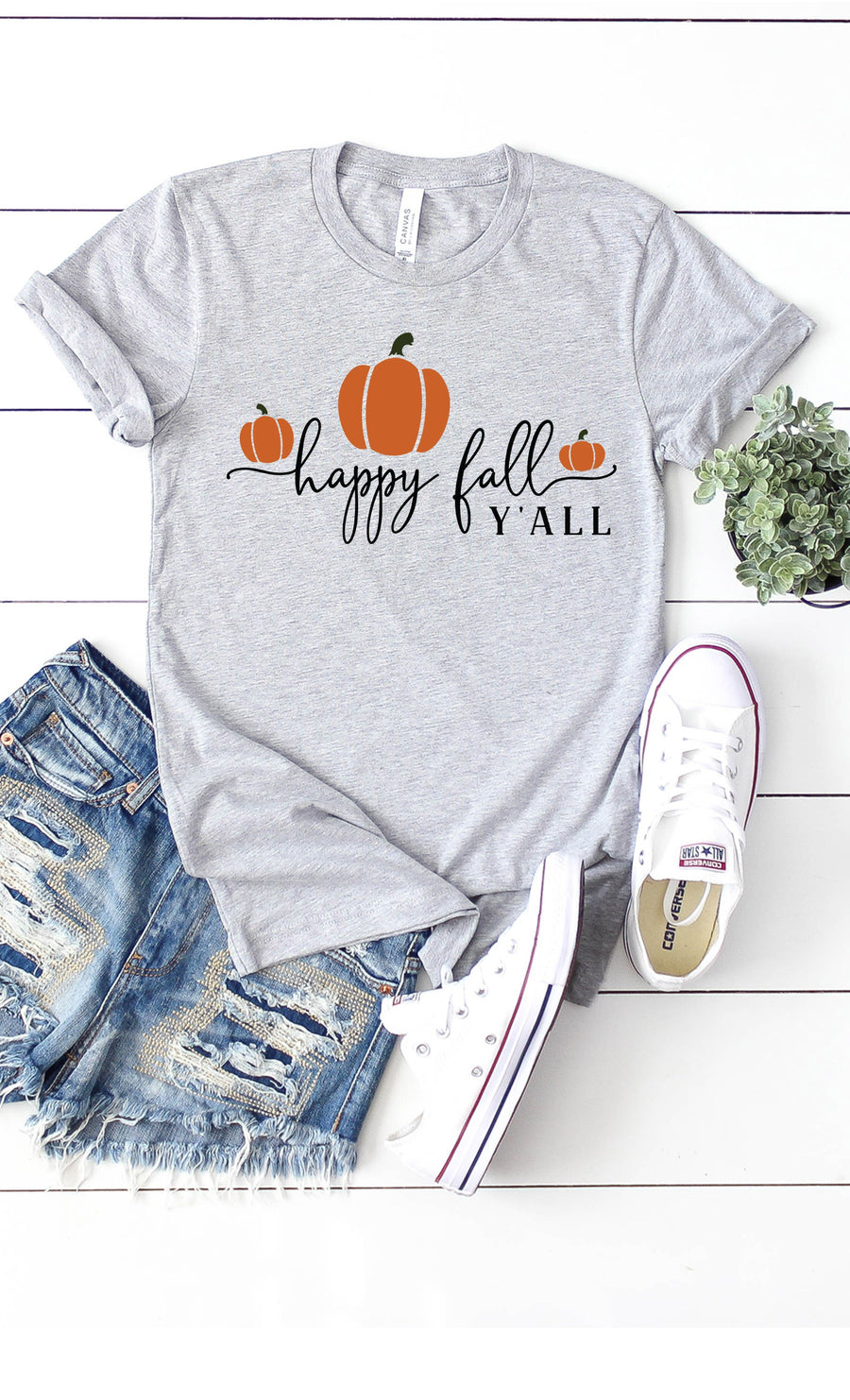 Happy Fall Y'all Graphic Tee