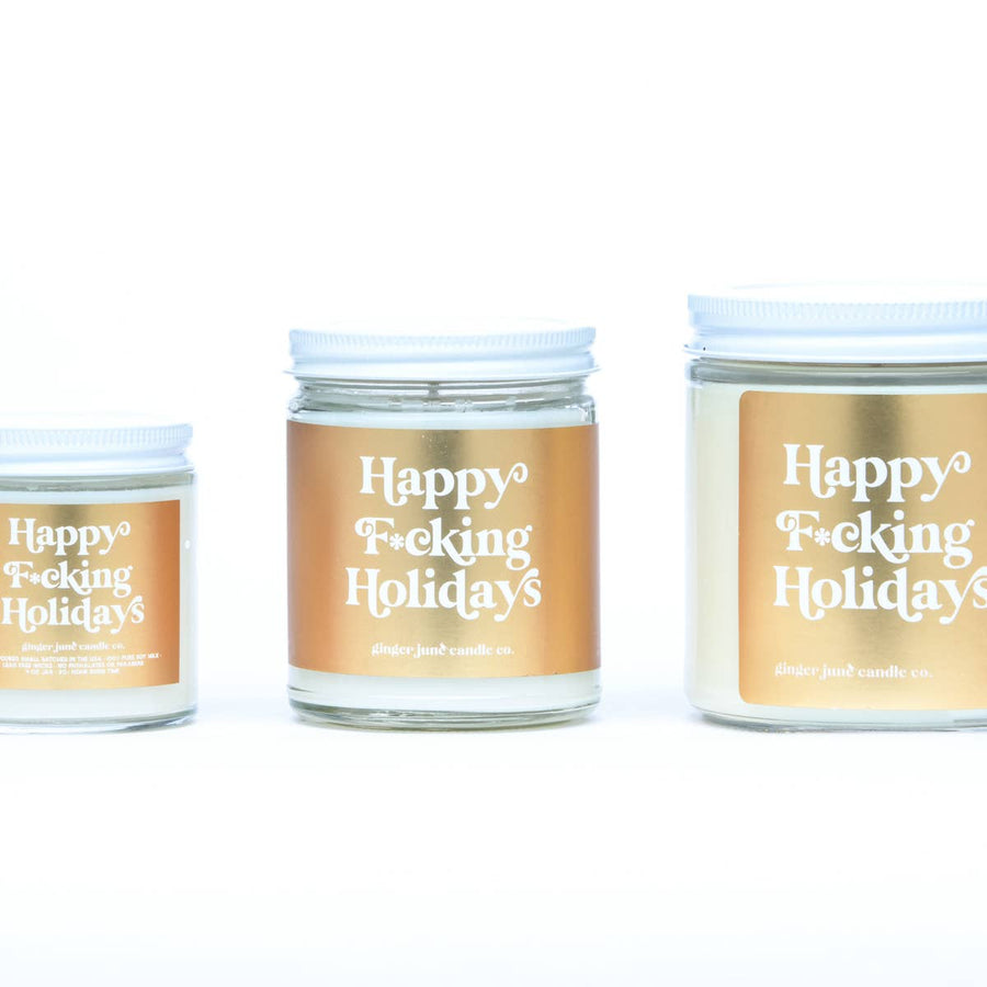 Holiday 9oz Soy Candle