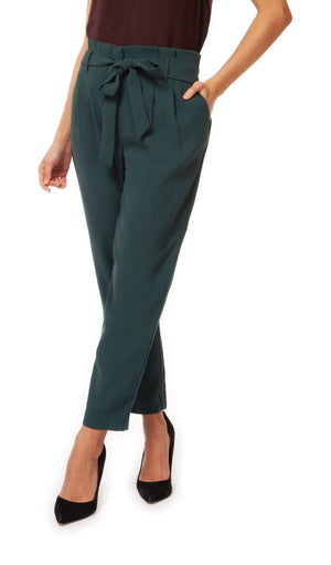 Paperbag Belted Pant