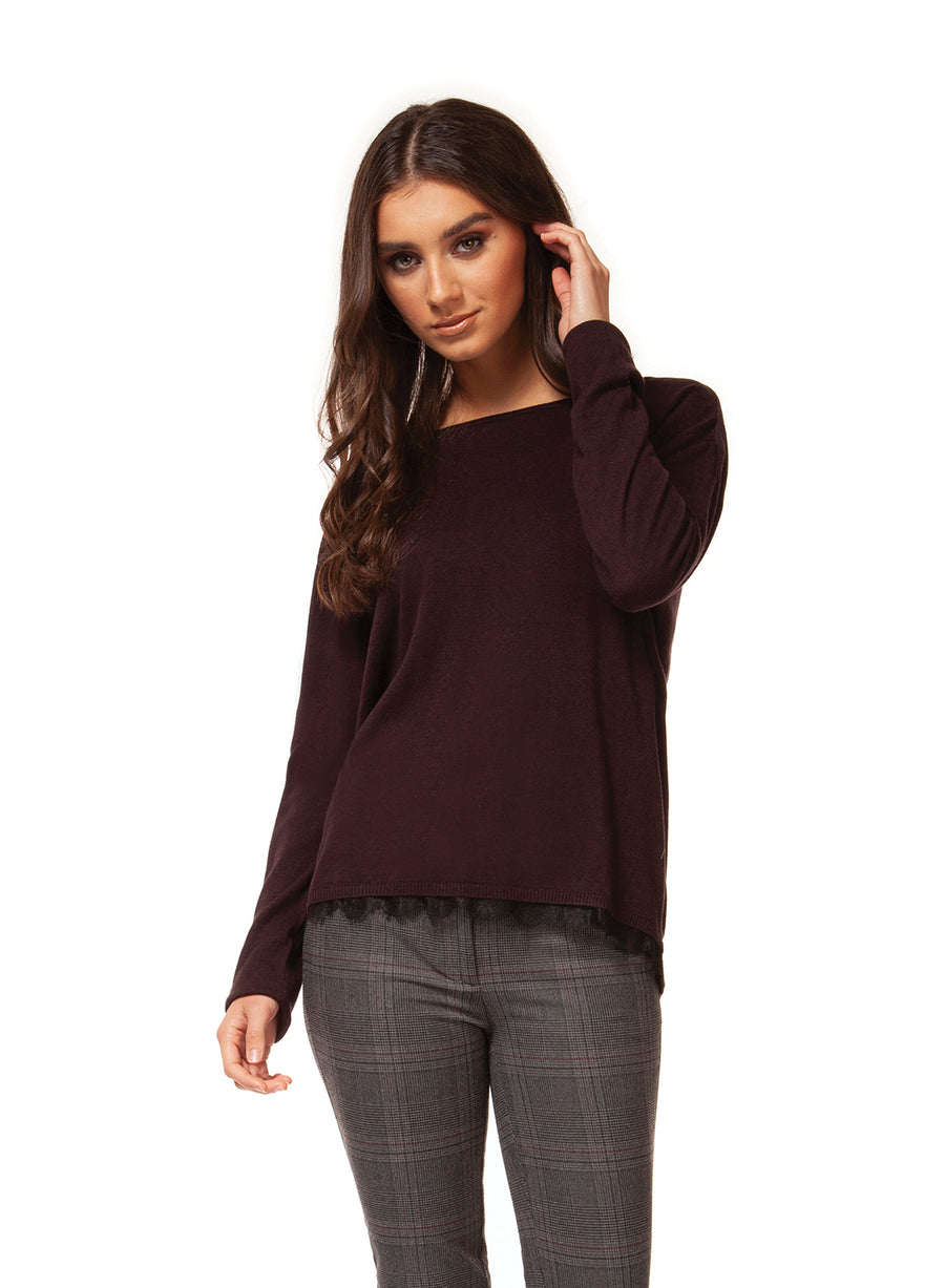 Twofer Sweater Top