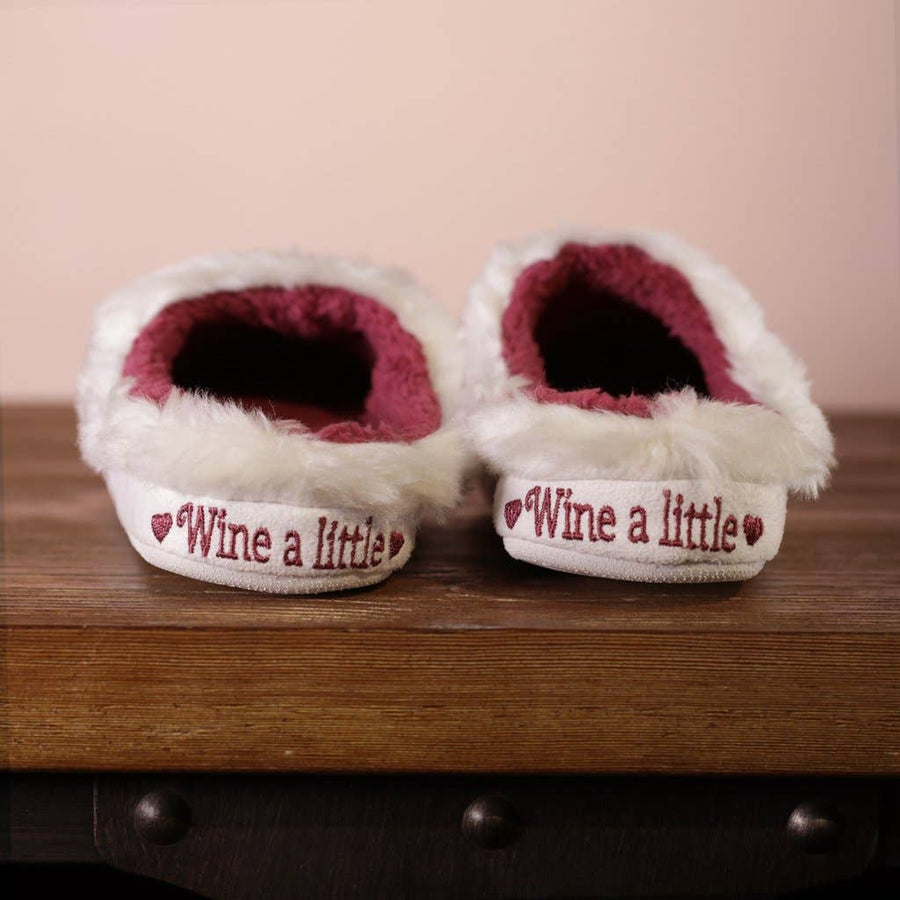 Wine a Little Slippers