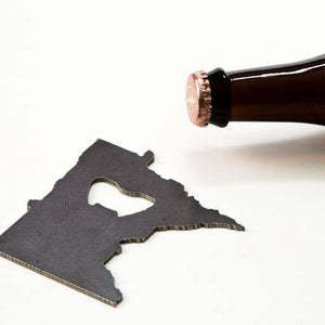 Minnesota Steel Bottle Opener