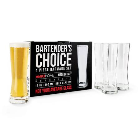 Bartender's Choice Beer Lager Glass