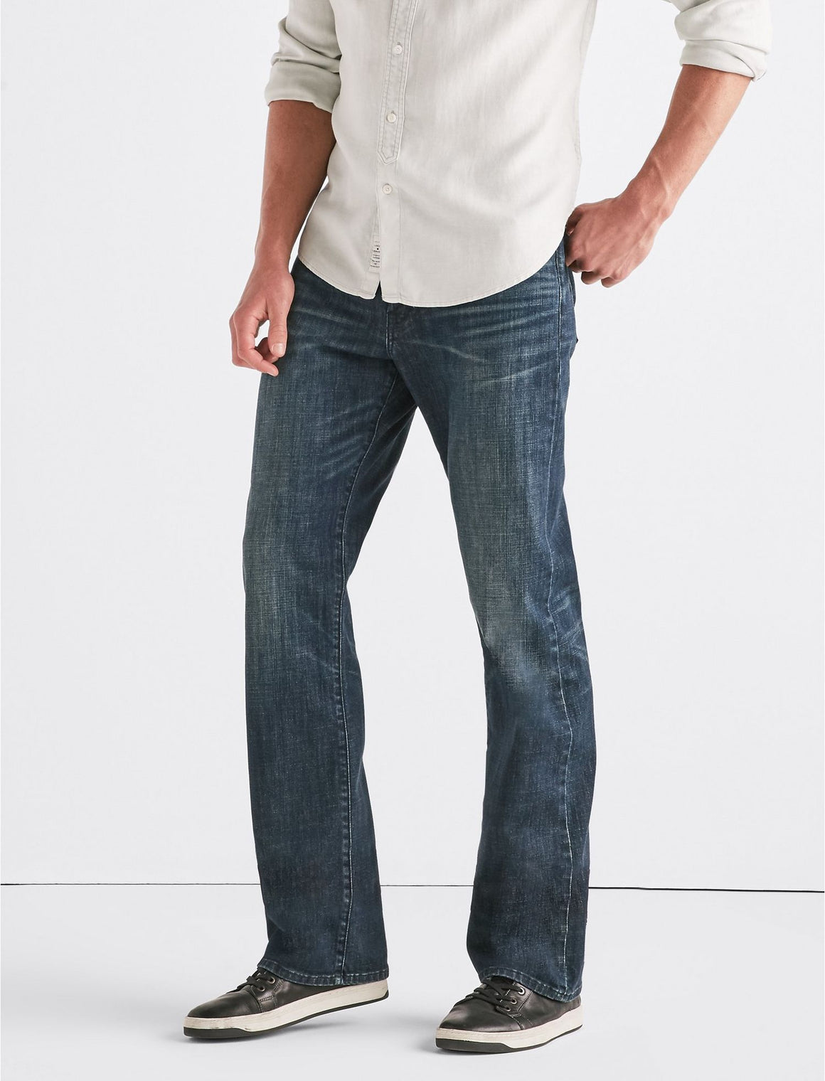 Lucky Brand 181 Relaxed Jean Briny Deep