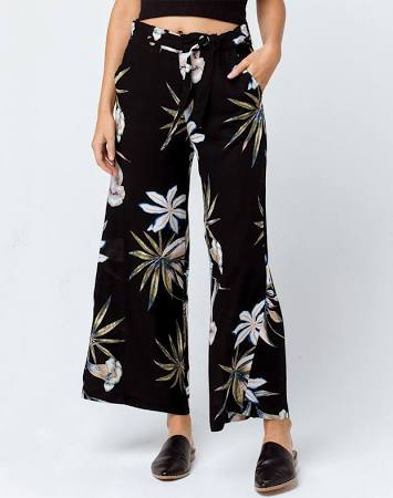 Roxy Waterfall Light Culotte Pants