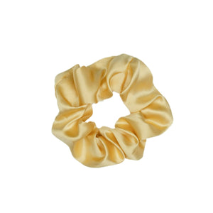 Solid Volume Silk Scrunchie