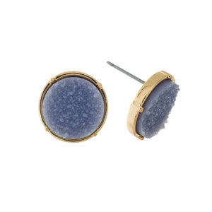 Assorted Faux Druzy Earring