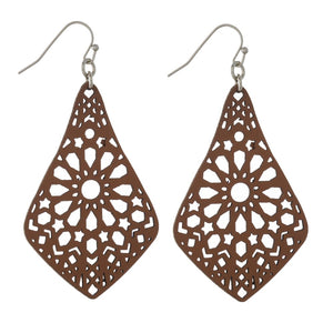 Filagree Cutout Earring