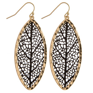 Filigree Tree Earrings