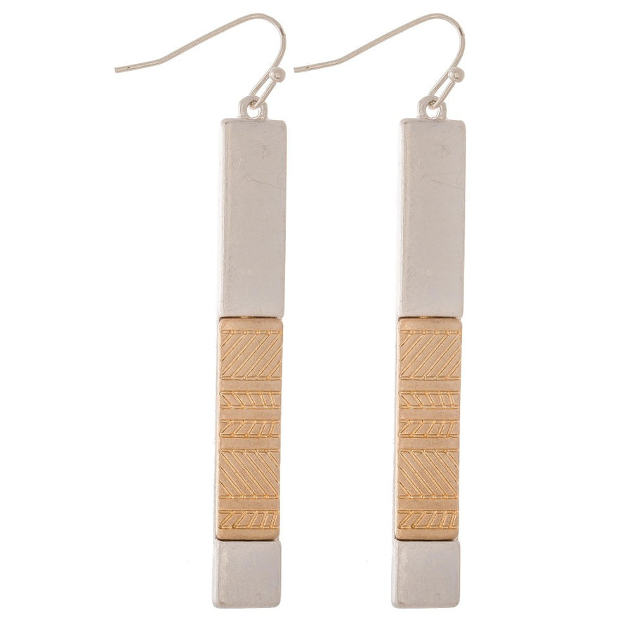 Statement Bar Earrings