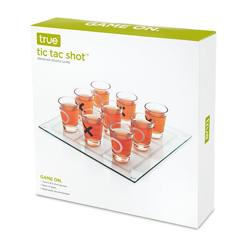 Tic Tac Shot Board Game
