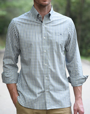 Fish Hippie Trogdon Bluff Plaid