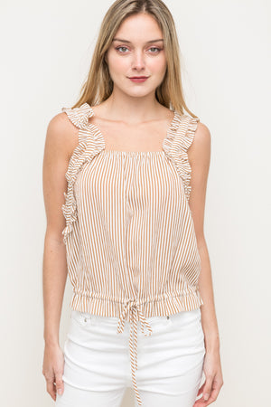 Cinched Waist Top