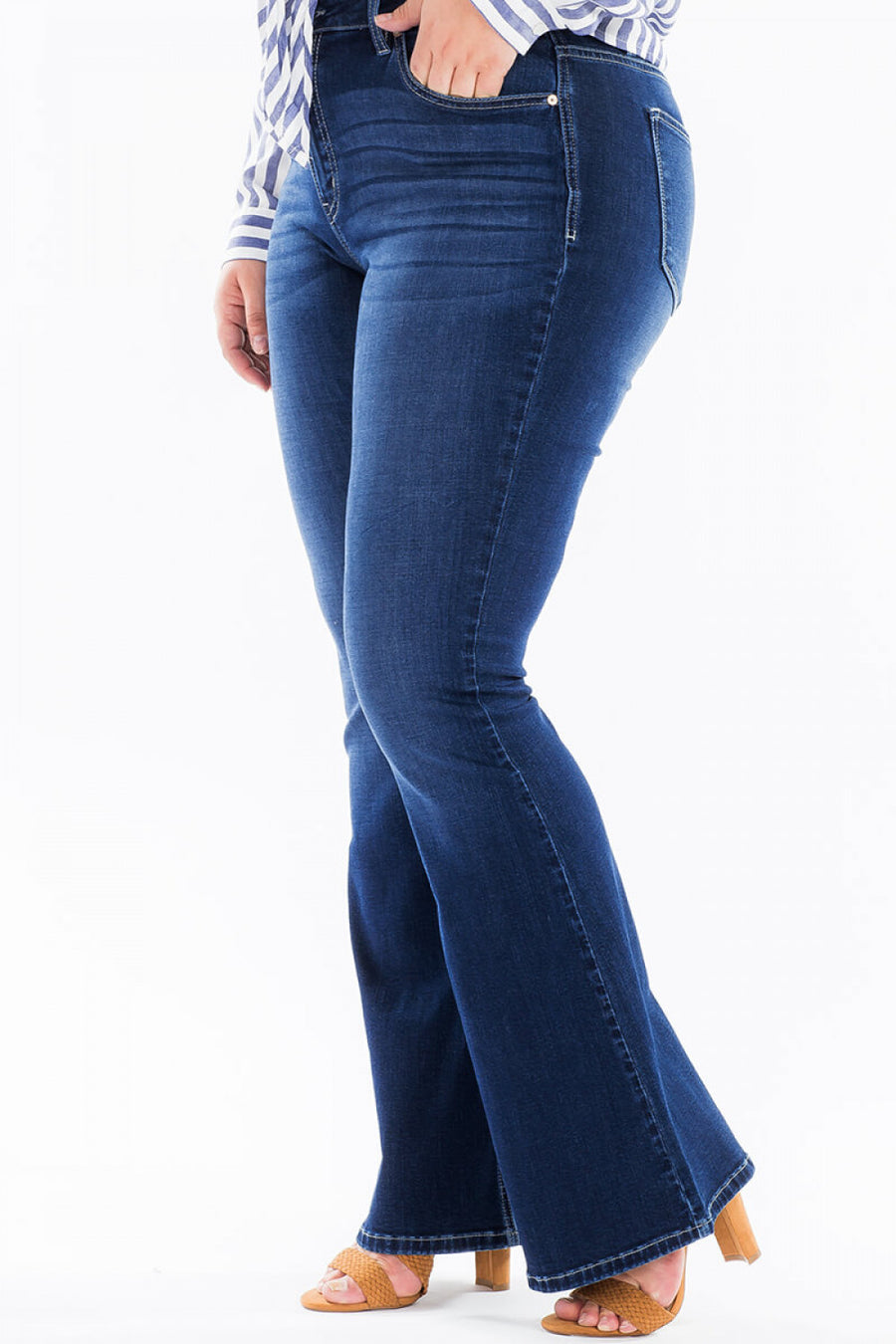Kancan Fit and Flare Jeans