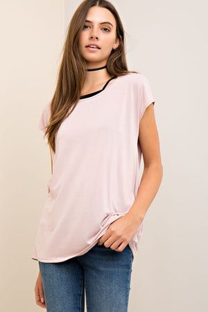 Solid Modal Casual Top