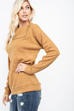 Open Turtle Neck Top