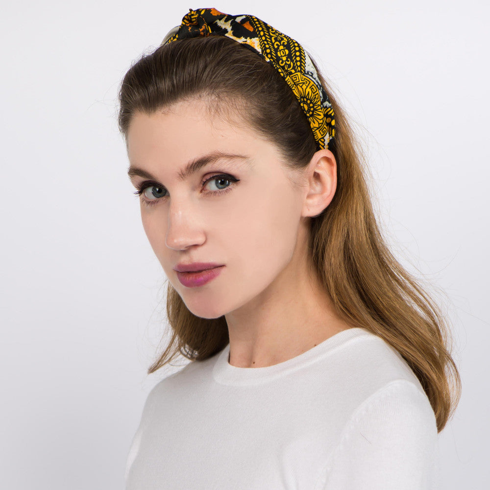 Knotted Animail Print Headband