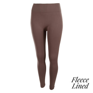 Kathy Fleeced Lined Leggings