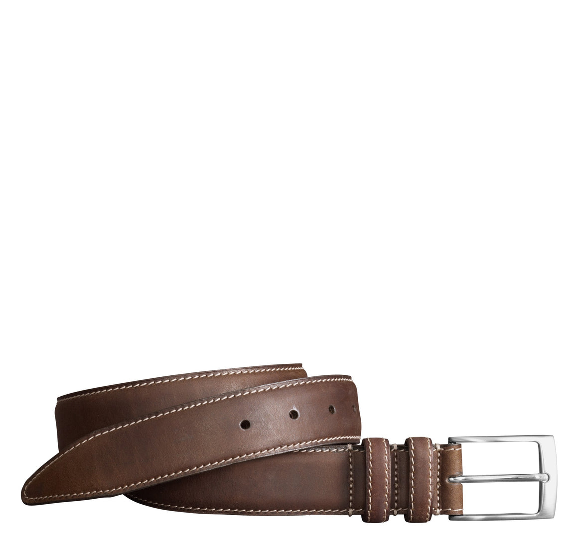 Johnston & Murphy Distressed Belt
