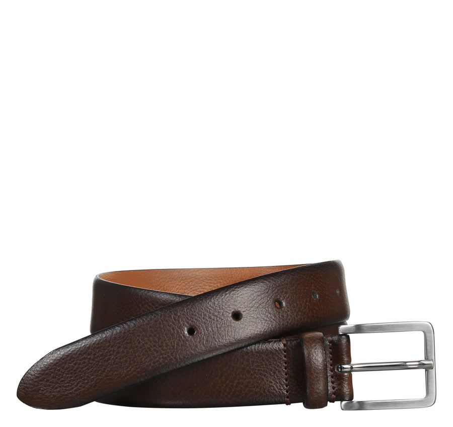 Johnston & Murphy Feather-Edge Dress Belt