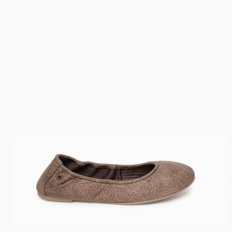 Anna Ballerina Leather Moc