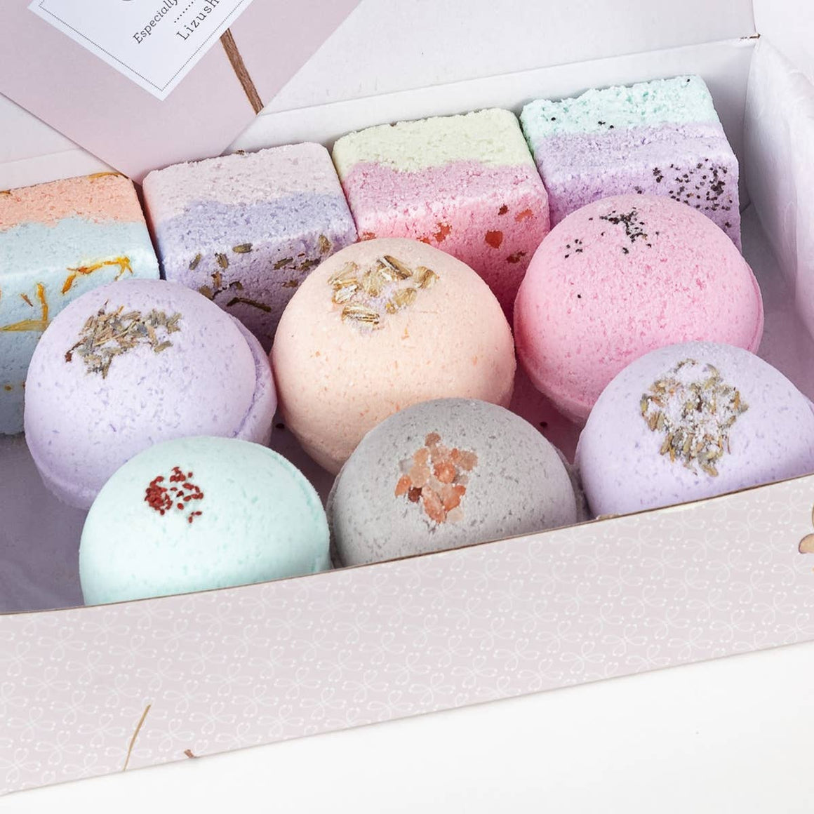 Bath Bombs & Shower Steamers Set