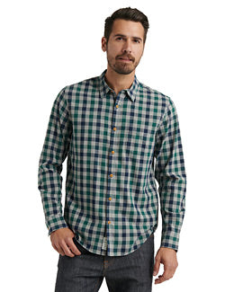 Lucky Brand Ballona Plaid Shirt