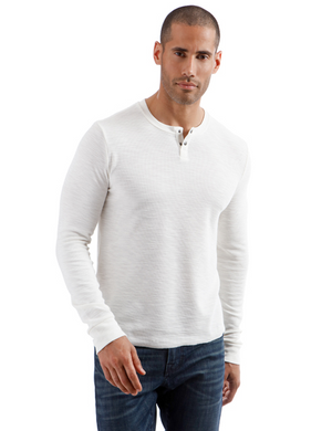 Lucky Brand Thermal Henley Shirt
