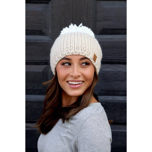 Two Toned Beanie