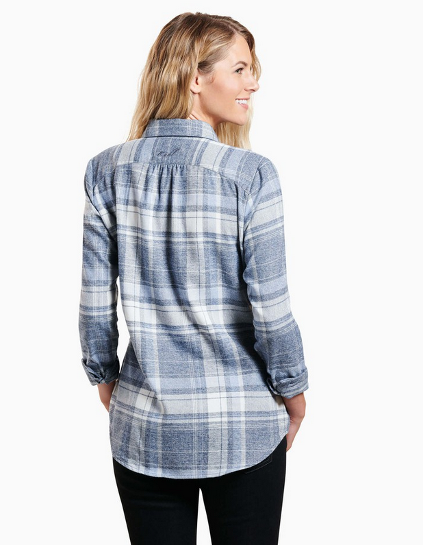 Kamila Flannel Top