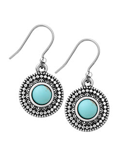 Lucky Brand Turquoise Drop Earring