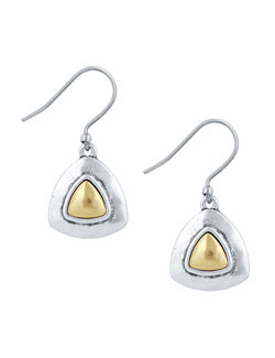Lucky Brand Two Tone Drop Earring