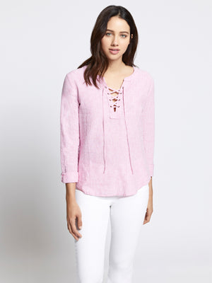 Tommie Lace Up Shirt